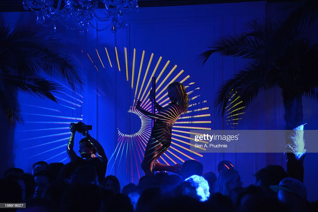 The Cuckoo Club and Show Pony pop up club at Grosvenor Place on November 24, 2012 in London, England.