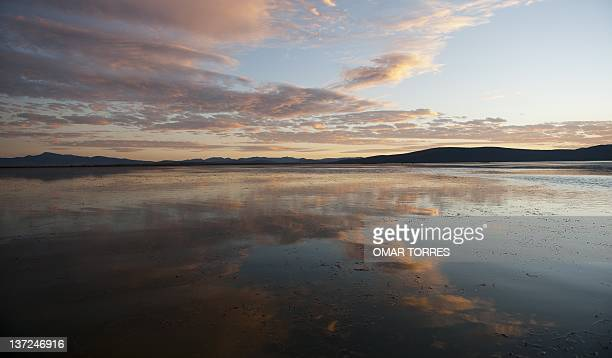 The Cuitzeo lagoon on January 11 2012 in Michoacan state Mexico The local fishermen presently have their fishing reduced due to the low level of the...