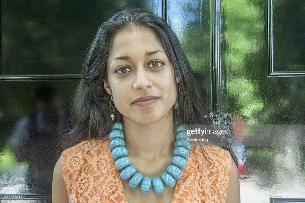 The curator Shumi Bose poses during the opening of the UK Pavillion at the Venice Biennale on May 26, 2016 in Venice, Italy. The 15th International Architecture Exhibition of La Biennale di Venezia will be open to the public from May 28 to November 27 in Venice, Italy.