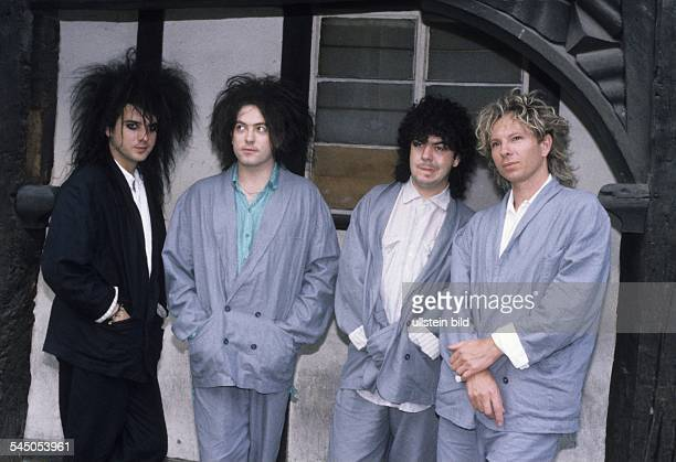 The Cure Band New Wave UK with Singer Robert Smith in London UK