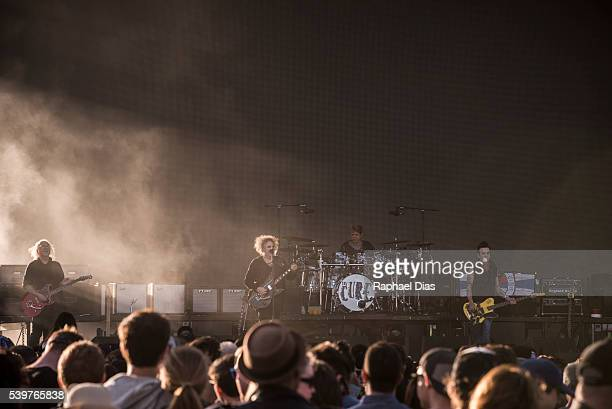 The Cure performs at Bestival day 2 at Woodbine Park on June 12 2016 in Toronto Canada