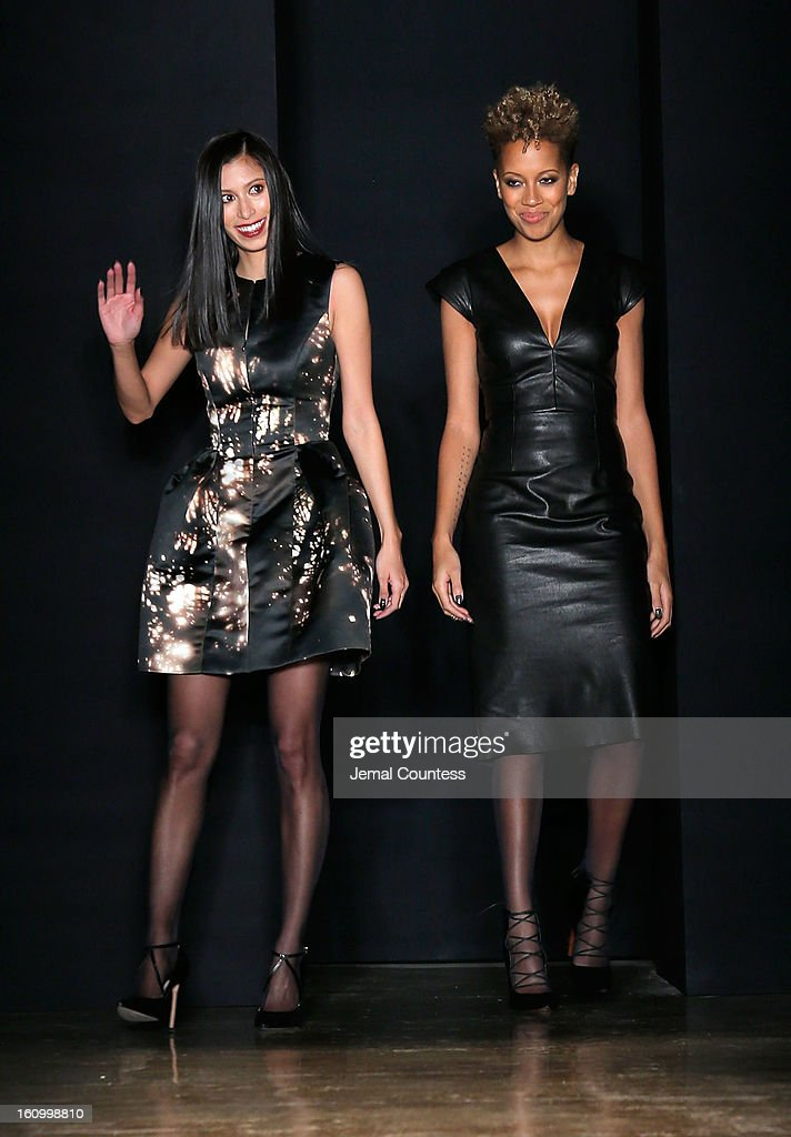 the Cushnie Et Ochs fall 2013 fashion show during MADE Fashion Week at Milk Studios on February 8, 2013 in New York City.