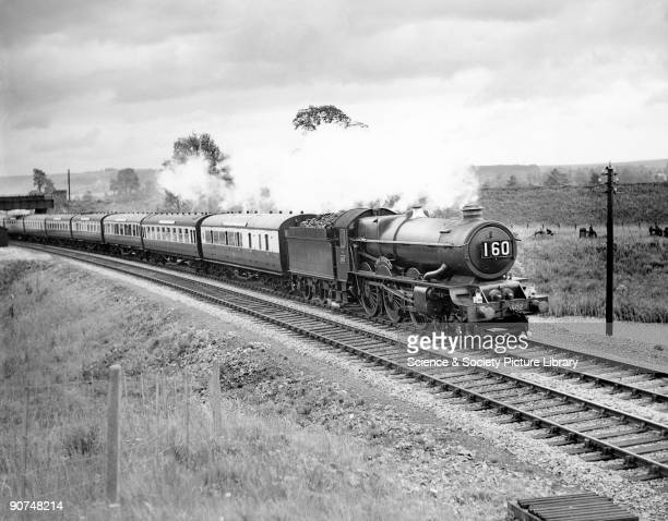 Regarded by many as the zenith of Great Western steam 'King' class 460 locomotive no 6023 'King Edward II' heading its most famous train 'The Cornish...