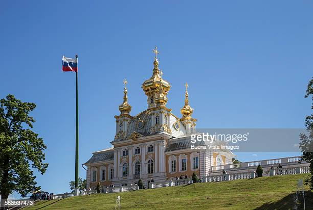 The Czar summer palace in St Petersburg