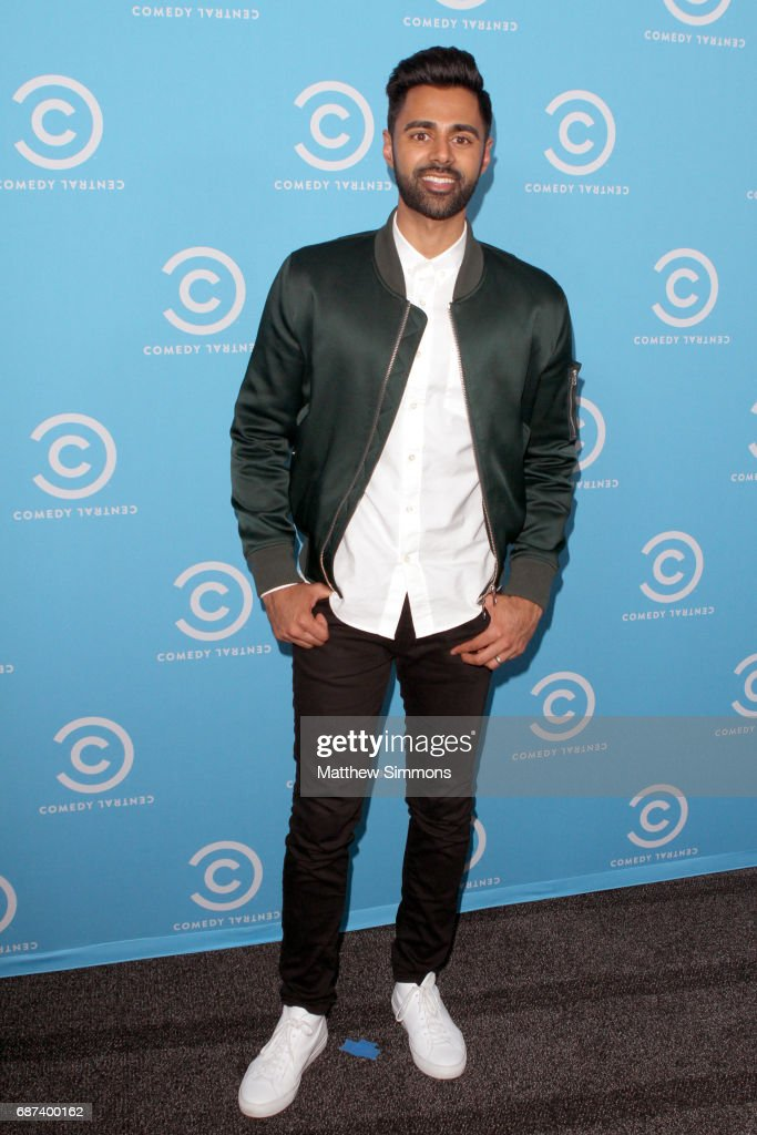 The Daily Show correspondent Hasan Minhaj attends Comedy Central's L.A. Press Day at Viacom Building on May 23, 2017 in Los Angeles, California.