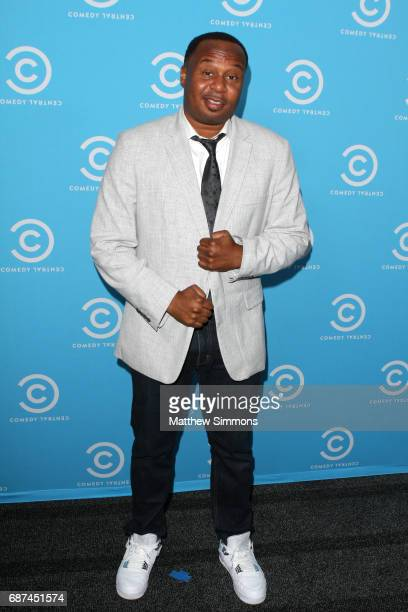 The Daily Show correspondent Roy Wood Jr attends Comedy Central's LA Press Day at Viacom Building on May 23 2017 in Los Angeles California