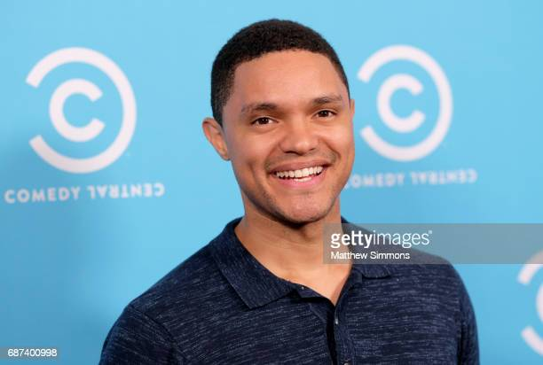 The Daily Show host Trevor Noah attends Comedy Central's LA Press Day at Viacom Building on May 23 2017 in Los Angeles California