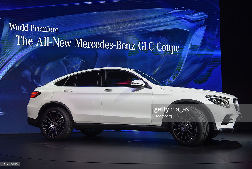 Inside the 2016 new york international auto show getty for Mercedes benz ag