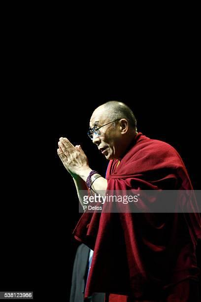 The Dalai Lama in Paris-Bercy