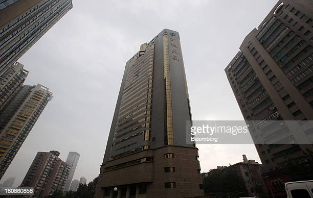 The Dalian Wanda Group headquarters center stands in Dalian China on Saturday Sept 14 2013 Goldman Sachs Group Inc this month raised its estimate for...