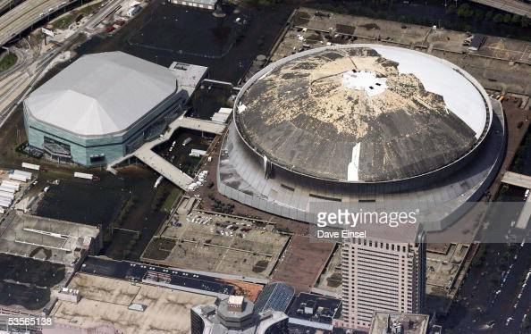 In Focus 10 Years After Katrina The Superdome At The