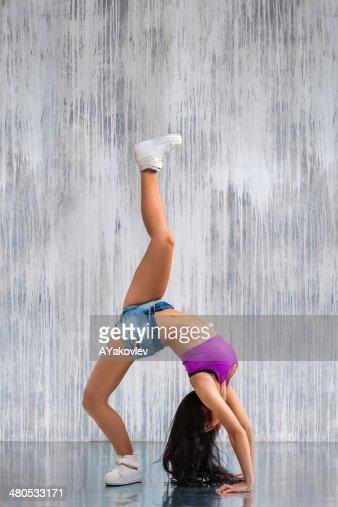 the dancer : Stockfoto