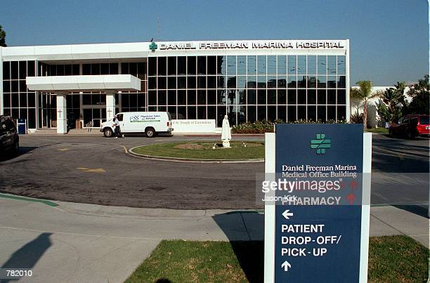 The Daniel Freeman Marina Medical Center seen here November 14 2000 in Marina Del Rey CA is believed to be where actress Melanie Griffith is staying