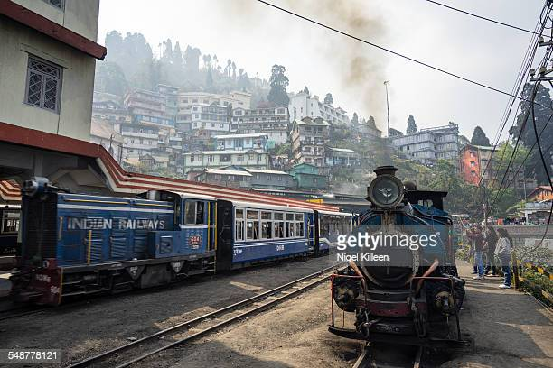 The Darjeeling Himalayan Railway Also known as the Toy Train is a narrow gauge railway built to navigate the Himalayan foothills around Darjeeling...