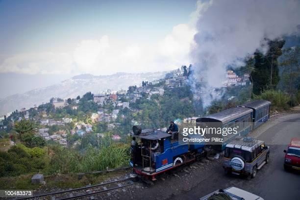 The Darjeeling Himalayan railway to Siliguri