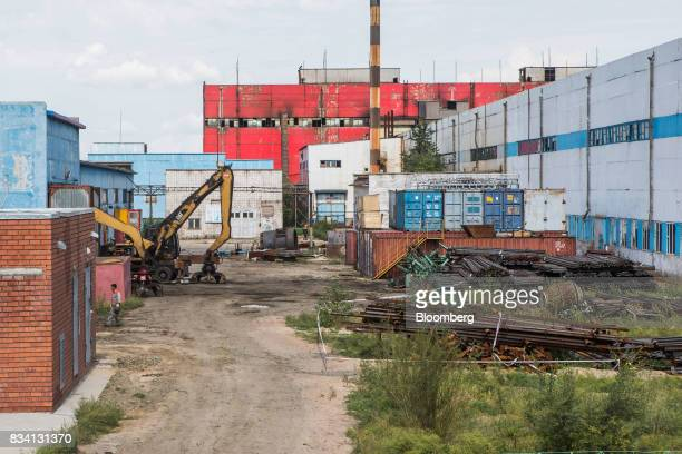 The Darkhan Metallurgical Plant stands in Darkhan Mongolia on Monday Aug 14 2017 Mongolia desperate to make more of its abundant resources as it...