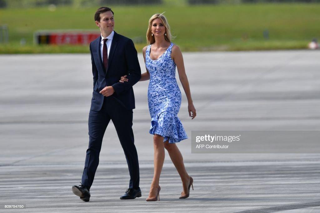 G20 Leaders Arrive For Hamburg Summit