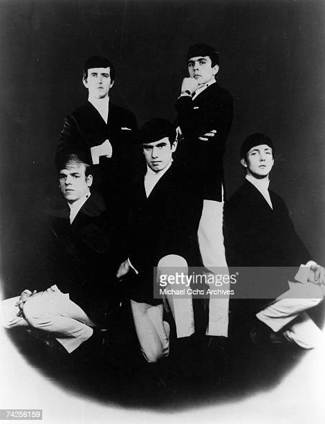 The Dave Clark Five pose for a portrait in circa 1963 Clockwise from bottom left Lenny Davidson Rick Huxley Denis 'Denny' Payton Mike Smith Dave Clark
