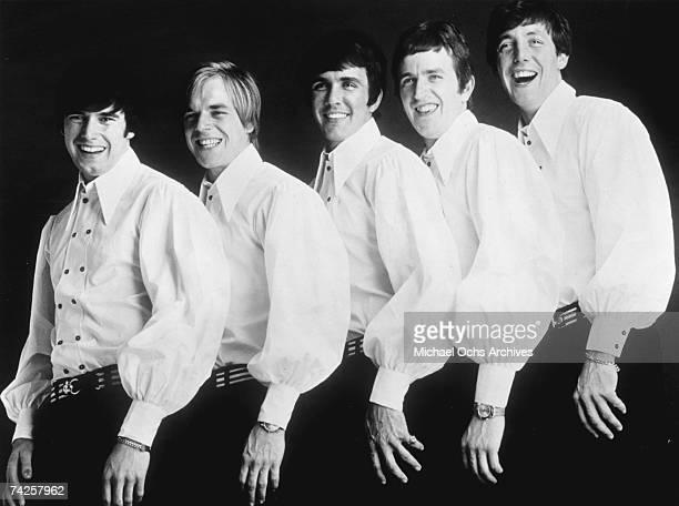 The Dave Clark Five pose for a portrait in circa 1963 Denis 'Denny' Payton Lenny Davidson Dave Clark Rick Huxley Mike Smith