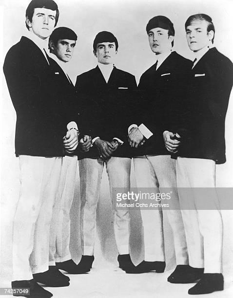 The Dave Clark Five pose for a portrait in circa 1963 Rick Huxley Denis 'Denny' Payton Dave Clark Mike Smith Lenny Davidson