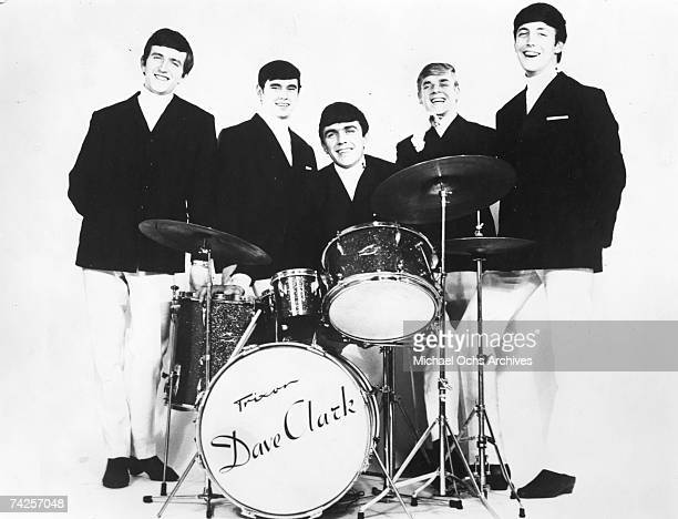 The Dave Clark Five pose for a portrait in circa 1964 Rick Huxley Denis 'Denny' Payton Dave Clark Lenny Davidson Mike Smith
