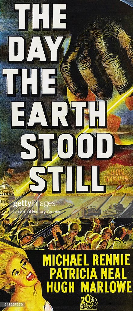 The Day the Earth Stood Still is a 1951 blackandwhite science fiction film directed by Robert Wise It was based on the 1940 short story 'Farewell to...