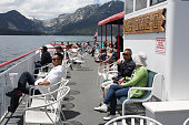 The daytime tours on MS Dixie II cross Lake Tahoe's southern end between Zephyr Cove in Nevada and Emerald Bay on the California side