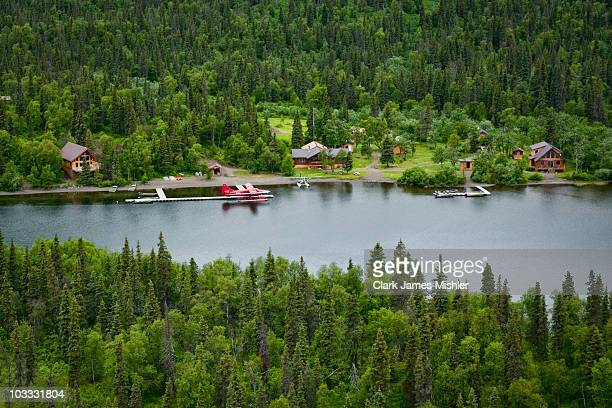 The De Havilland DHC3T plane which crashed August 10 2010 with former Sen Ted Stevens and former NASA Administrator Sean O'Keefe aboard is seen in...