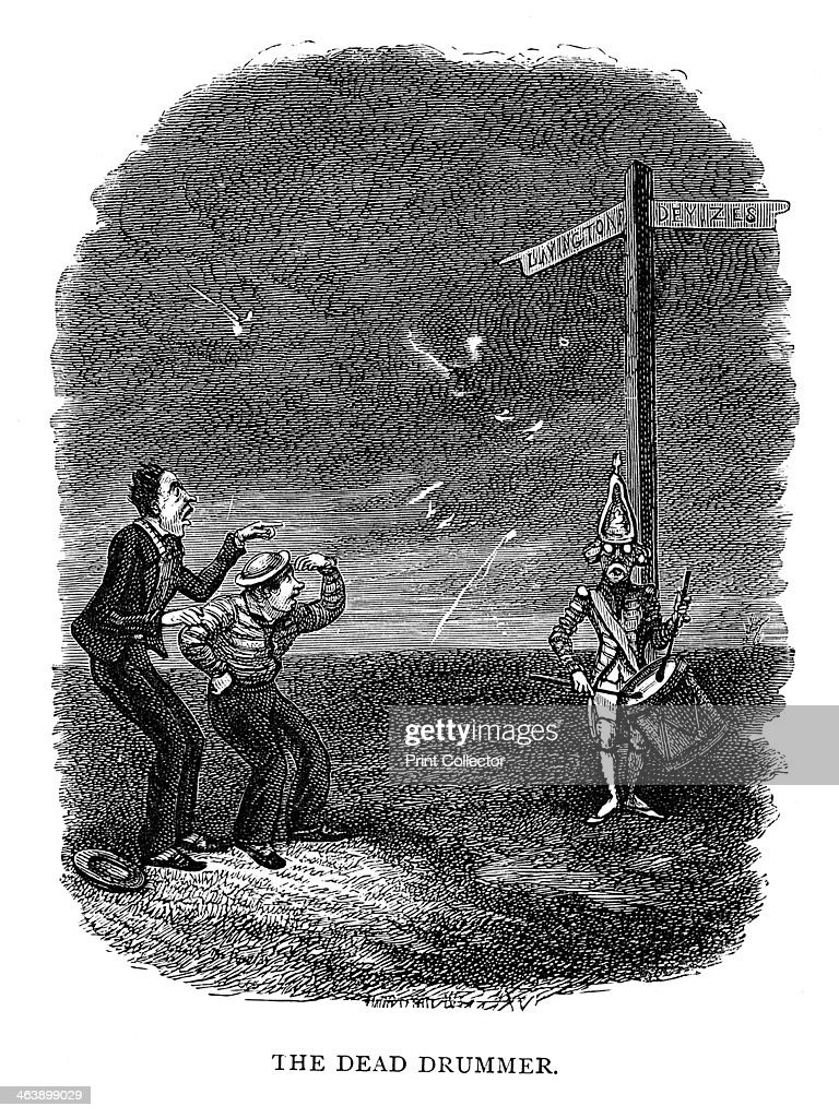 'The Dead Drummer' 1840 A legend of Salisbury Plain From The Ingoldsby Legends by 'Thomas Ingoldsby'