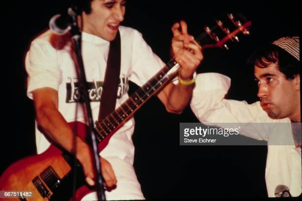 The Dead Milkmen perform at Columbia University New York New York October 11 1989
