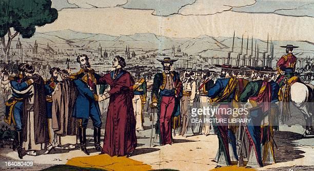 The death of Emperor Maximilian of Mexico and General Miguel Miramon and Tomas Mejia Queretaro June 19 1807 Mexico 19th century