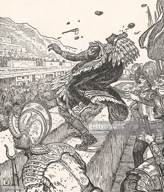 The Death of Montezuma