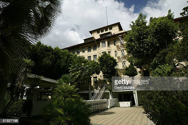 The decaying Ambassador Hotel best know as the site where Robert F Kennedy was assassinated is seen on October 21 2004 in Los Angeles California To...