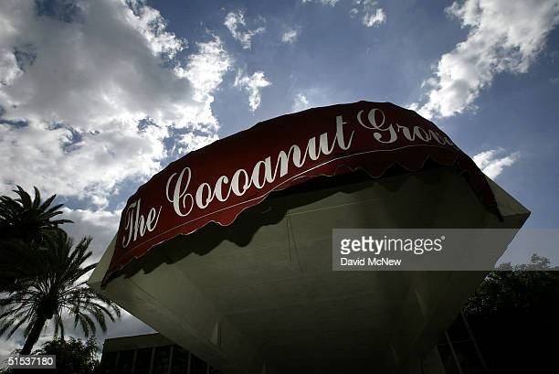 The decaying remains of the Coconut Grove nightclub at the Ambassador Hotel best know as the site where Robert F Kennedy was assassinated is seen on...