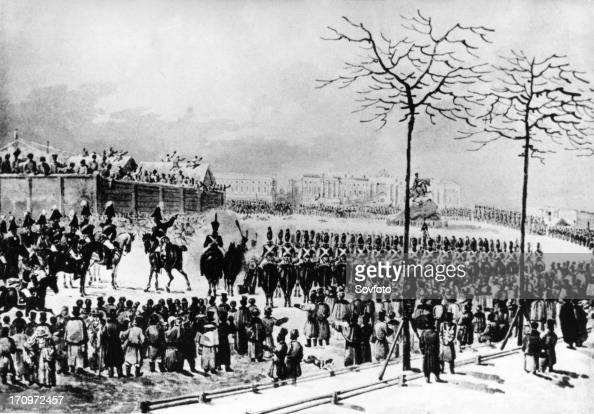 russia decembrist revolt The 1825 anti-czarist decembrist revolt in russia was led by ___ - 4267733.
