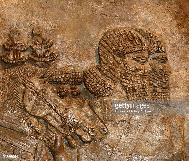The decoration of Assyrian Palaces Assyrian Kings competed to make each new palace finer than the last Carved reliefs decorated the interior walls...