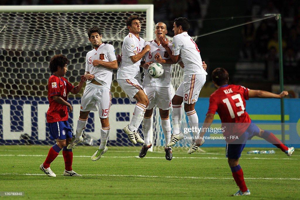 Spain v Korea Republic: FIFA U-20 World Cup Colombia 2011 - Round of 16