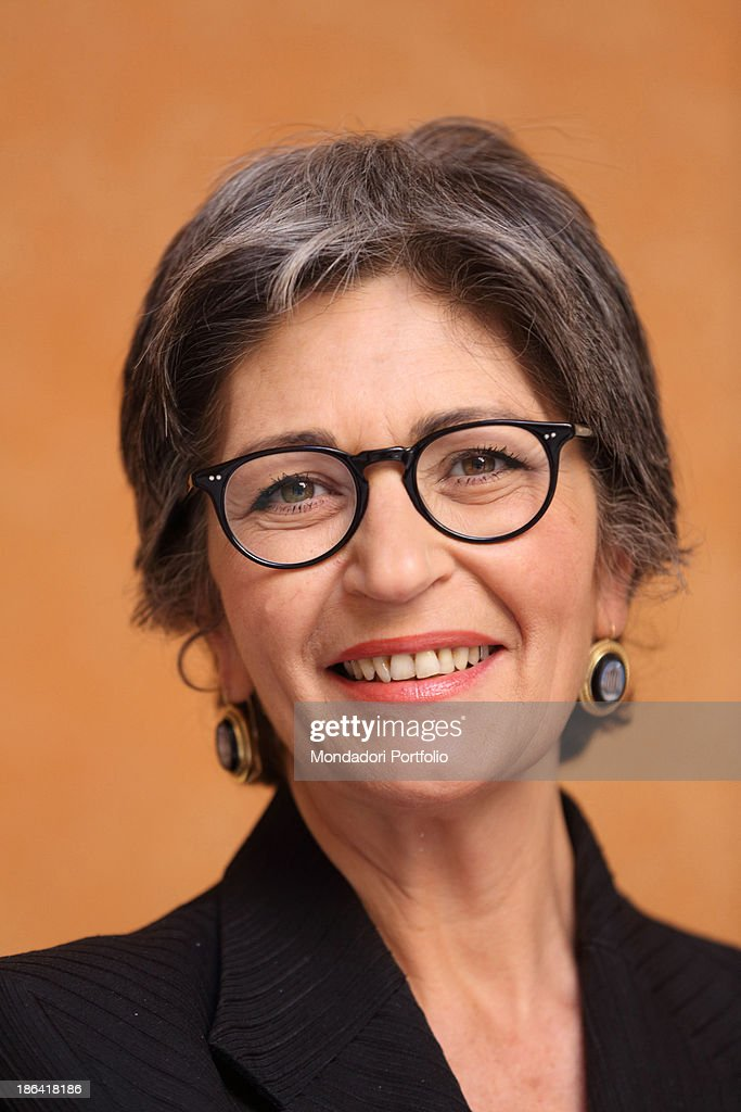 The Democratic Party leader of the Italian Senate <a gi-track='captionPersonalityLinkClicked' href=/galleries/search?phrase=Anna+Finocchiaro&family=editorial&specificpeople=4172756 ng-click='$event.stopPropagation()'>Anna Finocchiaro</a> posing smiling. Rome, 30th March 2012.