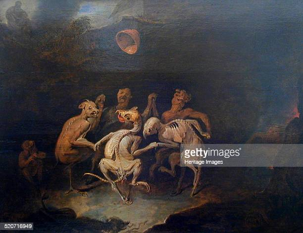 The demons Found in the collection of Musée d'Art RogerQuilliot ClermontFerrand