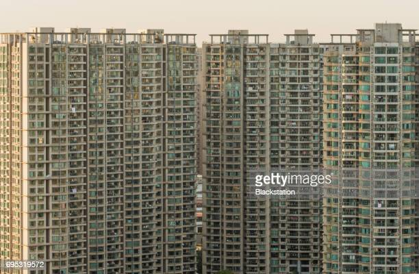 the dense city Residential Buildings