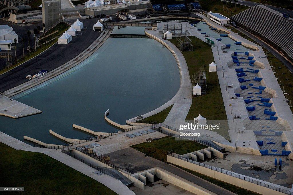 Aerial Views Of Olympic Venues As Rio Gets Emergency ...