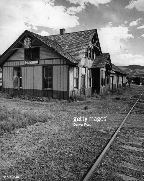 The Depot at Creede has been purchased by Mineral County The citizens hope to repair the old Denver Rio Grande building for use as a museum Credit...