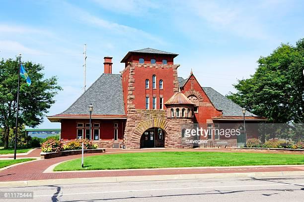 The Depot, former  train station, Muskegon, Michigan