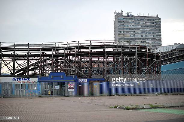 The derelict Dreamland theme park on August 2 2011 in Margate England The east Kent seaside town of Margate is currently undergoing regeneration work...