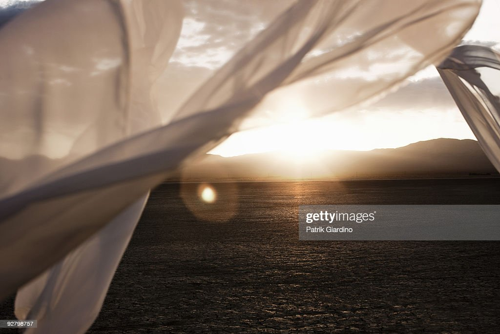 The Desert Framed : Stock Photo