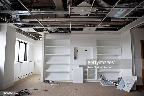 The deserted interior of Rebekah Brooks office inside the former News International base in Wapping East London Brooks was Chief Executive Officer of...