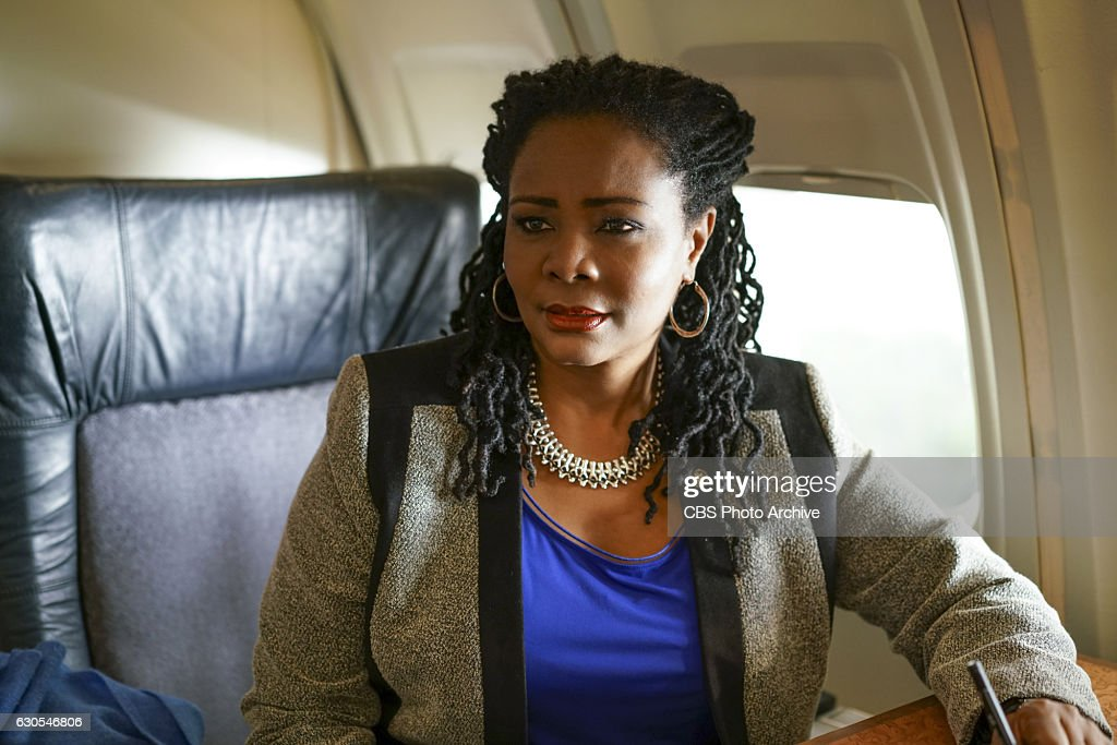 'The Detour'--When Elizabeth and her staff fly to Africa to offer development aid to the continent, they are caught by surprise when the Chinese arrive there first, ready to outmaneuver the U.S. with competing offers of aid. Also, when turbulence on their plane ride to Africa leaves Daisy unnerved, she and Susan Thompson (Tonya Pinkins) go on a welcome tour of Africa, admiring the beauty of the continent. And, the FBI asks Henry to help investigate a Christian cult member who may have helped build the bomb used in the Illinois coffee shop attack, on MADAM SECRETARY, Sunday, Jan. 15, 2017 (9:00-10:00 PM, ET/PT) on the CBS Television Network. Pictured: Tonya Pinkins as Susan Thompson