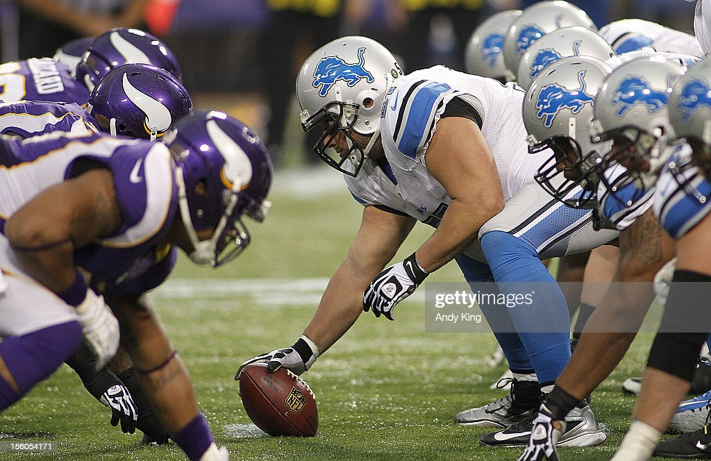 The Detroit Lions against the Minnesota Vikings on November 11, 2012 at Mall of America Field at the Hubert H. Humphrey Metrodome in Minneapolis, Minnesota. The Vikings defeated the Lions 34-24.
