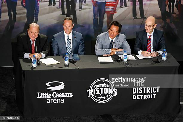 The Detroit Pistons announced they will move downtown Detroit and begin playing at the new Little Caesars Arena starting next season on November 22...