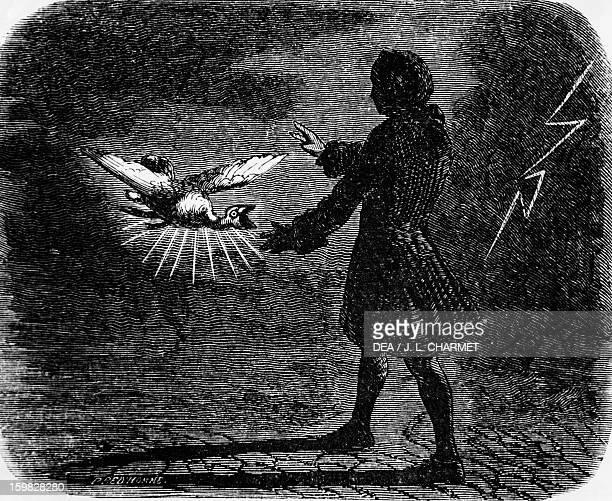 The devil in love 1845 illustration by Beaumont for the 1772 novel by Jacques Cazotte Paris Bibliothèque Nationale De France